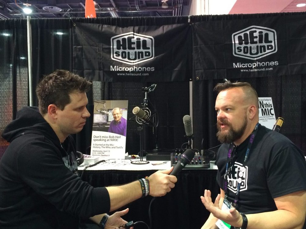 Dave Hines From Heil Sound At NMX NAB