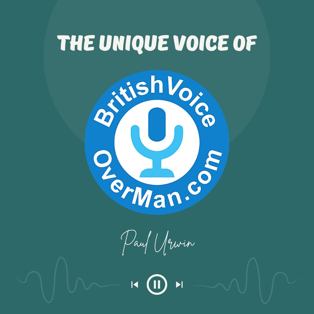 The Unique Voice Of The British Voiceover Man